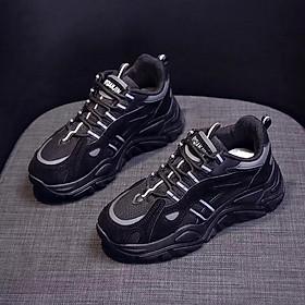 Giày Sneaker Đế Cực Khủng Vạch Phản Quang