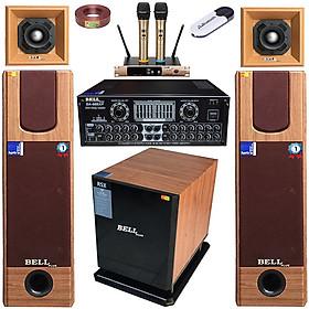Trọn bộ dàn karaoke gia đình SA - 338S BellPlus (hàng chính hãng)