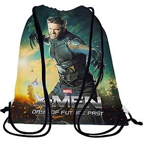Túi Rút Unisex In Hình Wolverine: Days Of Future Past - BDFF312