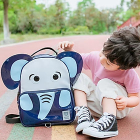Balo đi học Beddybear Happy Paradise / họa tiết Voi / BJX-LY / Dành cho bé mẫu giáo / Chống thấm nước