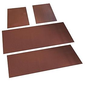 Bộ 4 miếng thảm lót sàn ô tô T25.7 , Thảm sàn xe hơi 7 chỗ DIY