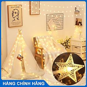 Dây đèn LED trang trí nhà cửa hình ngôi sao  không chớp nháy trang trí phòng, nội thất, khung tranh phòng ngủ