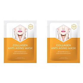 Combo 2 mặt nạ Avif dưỡng da giảm lão hóa - Avif collagen anti-aging mask 21g