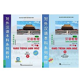 [Download Sách] Combo Giáo Trình Hán Ngữ Tập 3: Quyển Thượng + Quyển Hạ