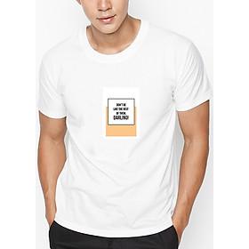 Hình đại diện sản phẩm Áo Thun Nam In Hình Do Not Be Like The Rest Of Them - Trắng