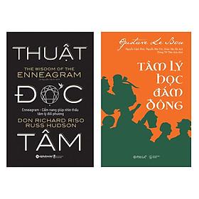 Combo Sách : Thuật Đọc Tâm + Tâm Lý Học Đám Đông