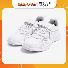 Giày Thể Thao Lưới Dệt Trẻ Em Biti's DSB136600TRG (Trắng)