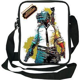 Túi da đeo chéo TROY TRTD001 in hình chiến binh PlayerUnknown's Battlegrounds