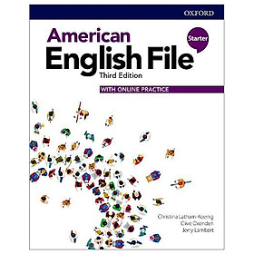 American English File: Starter: Students Book With Online Practice - 3rd Edition