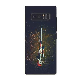 Ốp điện thoại dành cho máy Samsung Galaxy Note 8 - One shot MS ACQDA001