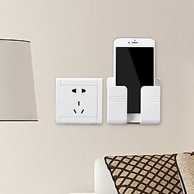 Hộp ( giá đỡ ) treo tường đựng điện thoại, remote tivi, máy lạnh, quạt