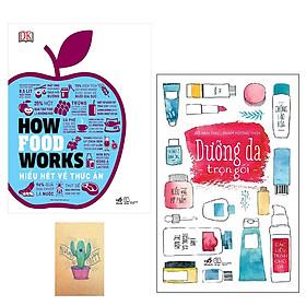 Combo How Food Works - Hiểu Hết Về Thức Ăn và Dưỡng Da Trọn Gói ( Tặng Kèm Sổ Tay )