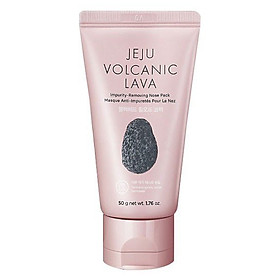 Gel Lột Mụn Mũi The Face Shop Jeju Vocanic Lava Peel-Off Clay Nose Mask 50g