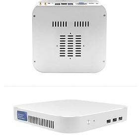PC mini nhỏ gọn cho văn phòng tích hợp Windows 10 CPU INTEL I3 4010U 1.7Gb Ram4G SSD120Gb model 2021