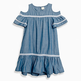 Hình đại diện sản phẩm Đầm M.D.K Bé Gái - Offshouder Dress