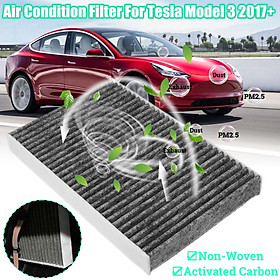 Activated Carbon Air Conditioning Inlet Filter For Tesla Model 3 2017+