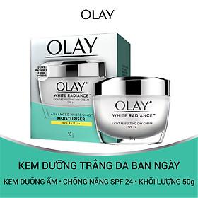 Kem dưỡng trắng da ban ngày Olay White Radiance Light Perfecting Day Cream 50g