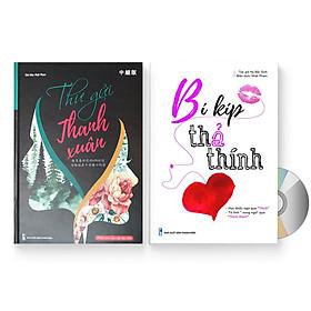 """Combo 2 sách: Thư Gửi Tương Lai (Bìa cứng, có Audio nghe) + Bí Kíp """"Thả Thính"""" + DVD quà tặng"""