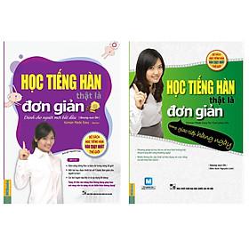 Combo Học tiếng Hàn đơn giản cho người mới bắt đầu - Giao tiếp hàng ngày
