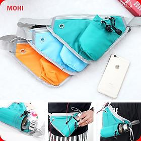 Túi đeo thể thao/Túi đeo chay bộ đựng bình nước, điện thoại, vật dụng hình tam giác MOHI MT15 - Chính Hãng
