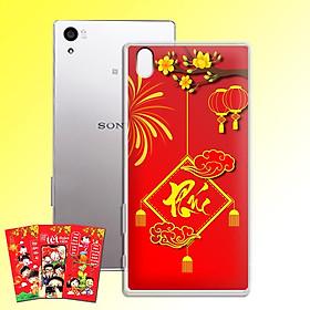 Ốp lưng dẻo cho điện thoại Sony Xperia Z5 - 01151 7972 PHUC04 - Tặng bao lì xì Cung Chúc Tân Xuân - Hàng Chính Hãng