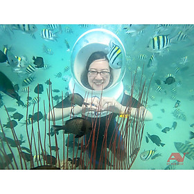 NHA TRANG - Tour đi bộ dưới đáy biển 1 ngày, có ăn trưa