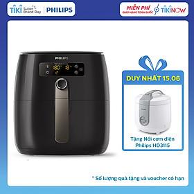 Nồi Chiên Không Dầu Philips HD9745 (1500W) - Hàng Chính Hãng