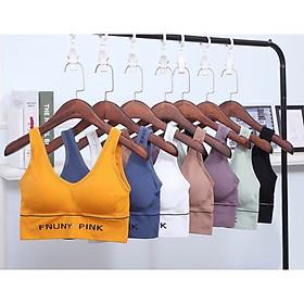 Bộ 2 Áo Tập Gym Nữ Cao Cấp - Chất Liệu Dệt Kim Co Giãn Thấm Hút Mồ Hôi Tốt - Áo Tập Yoga - Br07