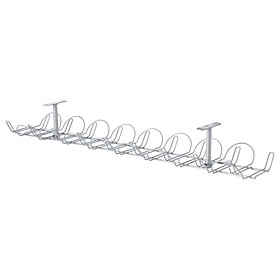 IKEA SIGNUM Cable trunking horizontal, silver-colour, 70 cm