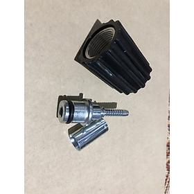 Đầu cốt ren trong 22mm của dây xịt máy rửa xe mini gia đình