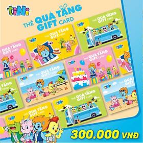 Thẻ quà tặng tiNi 300.000VND - CG300