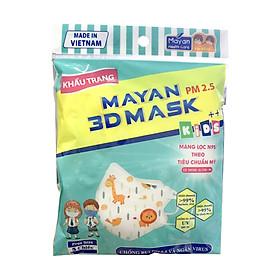 Khẩu Trang Mayan 3D Mask Chống Bụi PM 2.5 Gói 5 Miếng