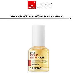 Tinh Chất Mờ Thâm Dưỡng Sáng Vitamin C+B3 - SURMEDIC Super Vita 100TM Light Up Serum 30ml