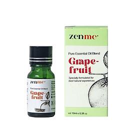Tinh dầu tinh chất Zenme hương vị Vỏ Bưởi 10ml giúp phấn chấn tinh thần, thư giãn.