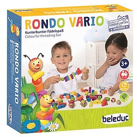RONDO VARIO – Bộ Đồ Chơi Montessori Hướng Dẫn Bé Học Về Hình Khối