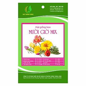 Hình đại diện sản phẩm Combo 2 gói Hạt giống hoa Mười giờ Mix Golden Seeds 50 Hạt
