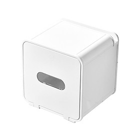 Multifunctional Bathroom Waterproof Tissue Box Wall-mounted Toilet Paper Box Punch-free Roll Paper Storage Boxes