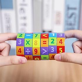Đồ chơi toán học Rubik bằng gỗ Vivitoys