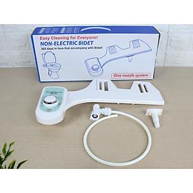 Vòi xịt rửa vệ sinh tự động Bidet HB-100 - 1 vòi phun nước lạnh