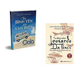 Combo 2 cuốn sách: Tìm Bình Yên Giữa Vạn Biến + Tư duy như Leonardo Da Vinci