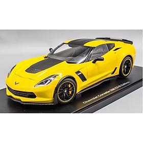 Xe Mô Hình Chevrolet Corvette C7r Z06 Edition 1:18 Autoart - 71260aa1 (Vàng)