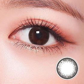 Kính áp tròng Hàn Quốc Clalen Iris dùng 1 ngày màu Jazz Black