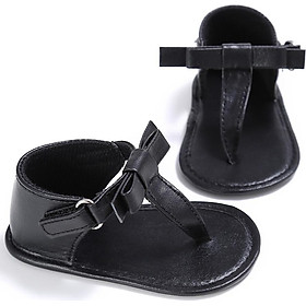 Baby Sandals Sweet Summer Baby Girls Fashion Breathable Bowknot First Walkers Infant Toddler Kids Anti-skid Casual Shoes
