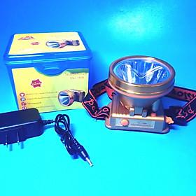Đèn sạc pin đội đầu siêu sáng 1606-80W (ánh sáng vàng)