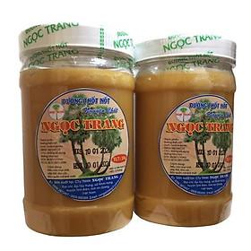 Combo 2KG Đường thốt nốt Ngọc Trang (2 hủ keo đường mềm) - Đặc sản An Giang
