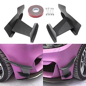 300mm Front Lip Splitter Fins Body Spoiler for BMW 3-Series F80 M3 2015-2019