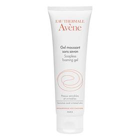 Gel rửa mặt, tẩy trang dịu nhẹ cho da nhạy cảm Avène Soapless Foaming Gel  (125ml)