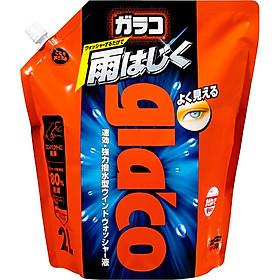 Nước Rửa Nano Kính Glaco Washer Pouch Pack 2L G-80 Soft99 Japan