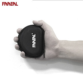 FAAEAL Portable Earphone Box Mini Headphones Case Zippered Hard Surface Storage Bag SD TF Cards Headset Box For Home Office Travel Sport