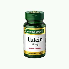 Viên Uống Bổ Mắt Lutein Nature's Bounty - 30 Viên